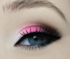 makijaż na walentynki
